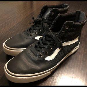 Vans Black Detailed Sk8-Hi